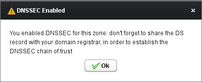 DNSSEC - Confirmation